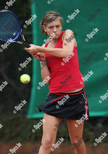 2008-09-07 / Tennis / Feest van de jeugd 2008 / Femke Verbeek..Foto: Maarten Straetemans (SMB)