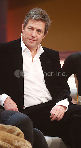 Hugh Grant attending the German ZDF show &quot;Bet it&quot; (Wetten, dass...) at cityhall in Graz, Austria. 08.11.2014.<br /> Photo by M. Mann/insight media /MediaPunch ***FOR USA ONLY***