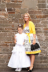 Ava Prendergast and Mam Lisa<br /> Picture: Sinead O'Neill / www.newsfile.ie