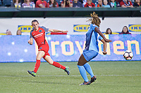 Portland, OR - Saturday June 17, 2017: Ashleigh Sykes during a regular season National Women's Soccer League (NWSL) match between the Portland Thorns FC and Sky Blue FC at Providence Park.