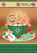 Janet, CHRISTMAS SYMBOLS, paintings+++++,USJS461,#XX#