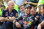 Adrian Newey (GBR), Red Bull Racing (ex. McLaren), Technical Operations Director - Daniel Ricciardo (AUS)  Red Bull Racing<br />  Foto © nph / Mathis