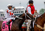 May 4, 2019 : #8 Mitole, ridden by Ricardo Santana, Jr., wins the Churchill Downs on Kentucky Derby Day at Churchill Downs on May 4, 2019 in Louisville, Kentucky. Mary Meek/Eclipse Sportswire/CSM