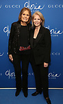 "Gloria Steinem and Daryl Roth attends the Opening Night Performance of ""Gloria: A Life"" on October 18, 2018 at the Daryl Roth Theatre in New York City."