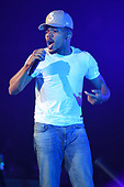 MIAMI, FL - JUNE 13: Chance The Rapper performs at the AmericanAirlines Arena on June 13, 2017 in Miami Florida. Credit Larry Marano © 2017