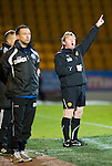 St Johnstone v Motherwell....26.01.11  .Stuart McCall shouts instructions.Picture by Graeme Hart..Copyright Perthshire Picture Agency.Tel: 01738 623350  Mobile: 07990 594431