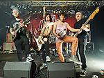 Sion, Port Franc, le Groupe de hard rock Worry Blast de Martigny avec, Dann, Mat, Lucas et Allan © sedrik nemeth