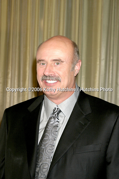 Dr. Phil McGraw .Museum of TV & Radio Annual Gala IHO Les Moonves and Jerry Bruckheimer.Regent Beverly Wilshire Hotel.Beverly Hills, CA.October 30, 2006.©2006 Kathy Hutchins / Hutchins Photo....