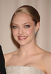 HOLLYWOOD, CA. - March 07: Actress Amanda Seyfried poses in the press room at the 82nd Annual Academy Awards held at the Kodak Theatre on March 7, 2010 in Hollywood, California.