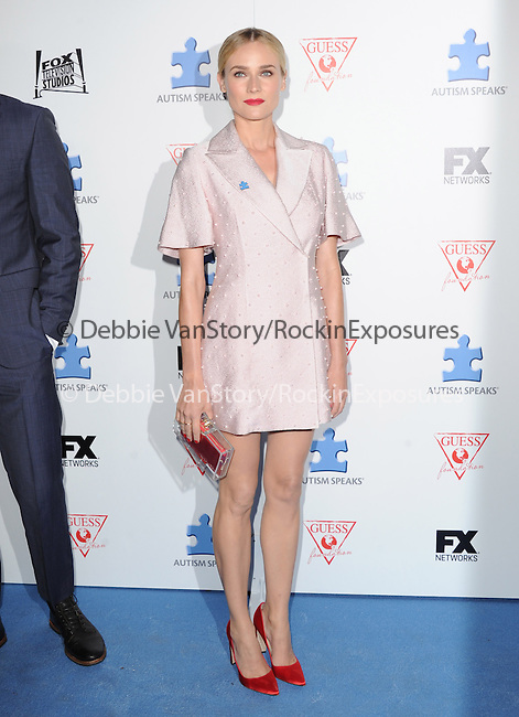 Diane Kruger attends The Autism Speaks 3rd Annual Blue Jean Ball held at Boulevard 3 in Hollywood, California on October 24,2012                                                                               © 2013 Hollywood Press Agency