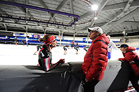 SPEEDSKATING: CALGARY: Olympic Oval, 30-11-2017, ISU World Cup, Ted-Jan Bloemen (CAN), Bart Schouten, ©photo Martin de Jong