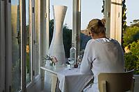 """Europe/France/Bretagne/29/Finistère/Douarnenez: Au restaurant de l'hôtel """"Ty Mad"""""""