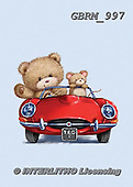 Roger, CUTE ANIMALS, LUSTIGE TIERE, ANIMALITOS DIVERTIDOS, paintings+++++_RM-1617-2016,GBRM997,#ac#,car ,everyday