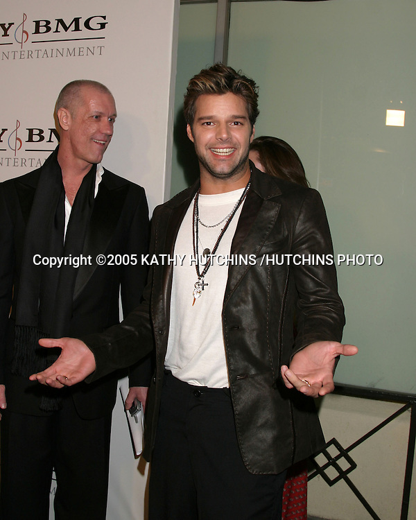 RICKY MARTIN.SONY & BMG MUSIC GRAMMY PARTY 2005.ROOSEVELT HOTEL.HOLLYWOOD, CA.FEBRUARY 13 , 2005.©2005 KATHY HUTCHINS /HUTCHINS PHOTO.