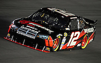 Oct. 15, 2009; Concord, NC, USA; NASCAR Sprint Cup Series driver David Stremme during qualifying for the Banking 500 at Lowes Motor Speedway. Mandatory Credit: Mark J. Rebilas-