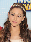LOS ANGELES, CA- APRIL 27: Actress Arianna Grande arrives at the 2013 Radio Disney Music Awards at Nokia Theatre L.A. Live on April 27, 2013 in Los Angeles, California.