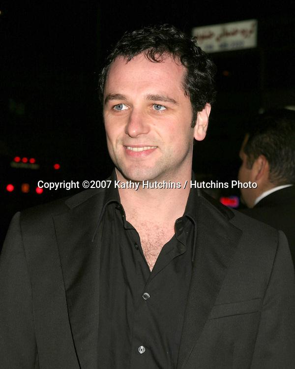 "Matthew Rhys.""TV Set""  Premiere.Crest Theater.Westwood, CA.March 27, 2007.©2007 Kathy Hutchins / Hutchins Photo."