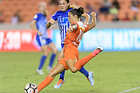 Houston, TX - Saturday July 22, 2017: Carli Lloyd during a regular season National Women's Soccer League (NWSL) match between the Houston Dash and the Boston Breakers at BBVA Compass Stadium.