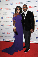 www.acepixs.com<br /> April 25, 2017  New York City<br /> <br /> Julius Tennon and Viola Davis attending the 2017 Time 100 Gala at Jazz at Lincoln Center on April 25, 2017 in New York City.<br /> <br /> Credit: Kristin Callahan/ACE Pictures<br /> <br /> <br /> Tel: 646 769 0430<br /> Email: info@acepixs.com