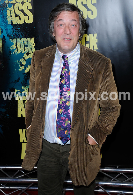 **ALL ROUND PICTURES FROM SOLARPIX.COM**.**SYNDICATION RIGHTS FOR UK, AUSTRALIA, DENMARK, PORTUGAL, S. AFRICA, SPAIN & DUBAI (U.A.E) & ASIA (EXCLUDING JAPAN) ONLY**.Kick-Ass Los Angeles Premiere - Arrivals, ArcLight Cinerama Dome, Hollywood, CA. USA, 13 April 2010.This pic: Stephen Fry.JOB REF: 11084     PHZ ortega    DATE: 13_04_2010.**MUST CREDIT SOLARPIX.COM OR DOUBLE FEE WILL BE CHARGED**.**MUST NOTIFY SOLARPIX OF ONLINE USAGE**.**CALL US ON: +34 952 811 768 or LOW RATE FROM UK 0844 617 7637**