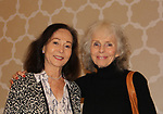 Nancy Kwan (World of Suzy Wong) and Anne Helm (General Hospital) and Zuzu in its a Wonderful Life - at the 14th Annual Mid-Atlantic Nostalgia Convention in Hunt Valley, Maryland (Photo by Sue Coflin/Max Photos)