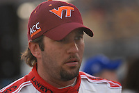 Apr 20, 2007; Avondale, AZ, USA; Nascar Busch Series driver Elliott Sadler (19) during the Bashas Supermarkets 200 at Phoenix International Raceway. Mandatory Credit: Mark J. Rebilas