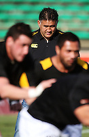 Wellington coach Jamie Joseph during the Air NZ Cup preseason match between Manawatu Turbos and Wellington Lions at FMG Stadium, Palmerston North, New Zealand on Friday, 17 July 2009. Photo: Dave Lintott / lintottphoto.co.nz