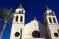 basilica, Phoenix, Arizona, AZ, St. Mary's Basilica in downtown Phoenix.