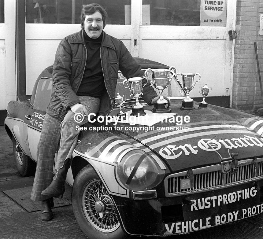 Alan Moon, rally driver, racing driver, businessman, entrepreneur, Belfast, N Ireland, 197601140036<br />