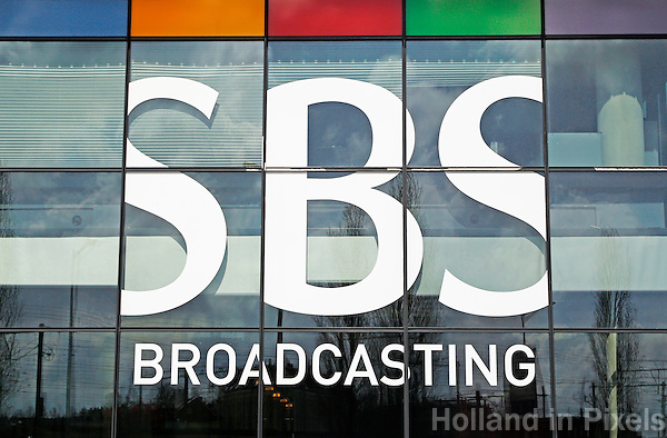 Nederland Amsterdam  2016 04 12. Kantoor van SBS  bij Rietlandpark. Foto Berlinda van Dam / Hollandse Hoogte
