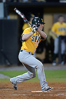 Siena Saints catcher Patrick Ortland (27) during the season opening game against the Central Florida Knights at Jay Bergman Field on February 14, 2014 in Orlando, Florida.  UCF defeated Siena 8-1.  (Mike Janes/Four Seam Images)