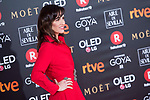 Ana Turpin attends red carpet of Goya Cinema Awards 2018 at Madrid Marriott Auditorium in Madrid , Spain. February 03, 2018. (ALTERPHOTOS/Borja B.Hojas)