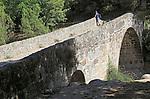 Puente Parral bridge, Jarandilla de la Vera, La Vera, Extremadura, Spain