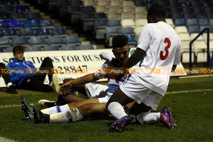 Action during Luton Town Youth vs Dagenham & Redbridge Youth, FA Youth Cup Football at Kenilworth Road on 17th November 2016
