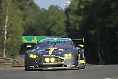June 14 and 15th 2017,  Le Mans, France; Le man 24 hour race qualification sessions at the Circuit de la Sarthe, Le Mans, France;  #98 ASTON MARTIN RACING (GBR) ASTON MARTIN VANTAGE LMGTE AM PAUL DALLA LANA (CAN) PEDRO LAMY (PRT) MATHIAS LAUDA (AUT)