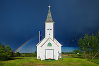 Rainbow and Bethel Lutheran Church<br /> Wroxton<br /> Saskatchewan<br /> Canada
