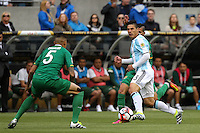 Seattle, WA - Tuesday June 14, 2016: Facundo Roncaglia during a Copa America Centenario Group D match between Argentina (ARG) and Bolivia (BOL) at CenturyLink Field.
