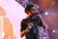 05/12/12 Carson, CA : Wiz Khalifa performs during KISS FM's Wango Tango concert held at the Home Depot Center