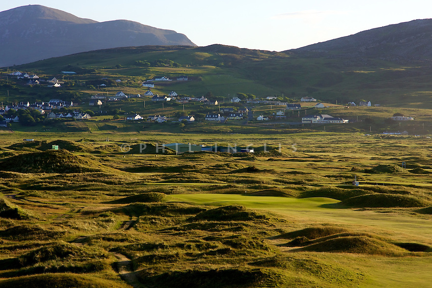 Ballyliffin GC -Glashedy Links , Ballyliffin, Co Donegal, Ireland. Picture Credit / Phil Inglis