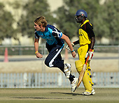 T20 World Cup Qualifying match - Scotland V Uganda at the ICC Global Cricket Academy - Dubai - a welcome return to action for Matthew Parker who missed most of last year through injury - Scotland won by 34 runs - Picture by Donald MacLeod  15.3.12  07702 319 738  clanmacleod@btinternet.com