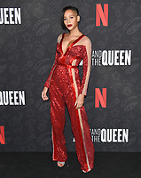 "10 January 2020 - Beverly Hills, California - Isis King. Netflix's ""AJ And The Queen"" Season 1 Premiere at The Egyptian Theatre in Hollywood. Photo Credit: Billy Bennight/AdMedia"