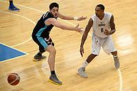 LEEUWARDEN - Basketbal, Donar - Estudiantes, Kalverdijkje, Champions League,  29-09-2017,  Donar speler Jason Dourisseau