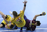 Velux EHF Champions League (day 3),Spain, Barcelona FC Barcelona Intersport beat 36-24 IK Savehof at Palau Blaugrana. Picture show Jesper Noddesbo
