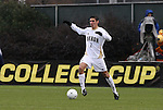 13 December 2009: Akron's Zarek Valentin. The University of Virginia Cavaliers defeated the University of Akron Zips 3-2 on penalty kicks after playing to a 0-0 overtime tie at WakeMed Soccer Stadium in Cary, North Carolina in the NCAA Division I Men's College Cup Championship game.