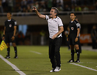 ENVIGADO-COLOMBIA- 24-09-2017.Juan Manuel Lillo director técnico del Atlético Nacional .Acción de juego entre el Envigado FC y el Atlético Nacional  durante encuentro  por la fecha 13 de la Liga Aguila II 2017 disputado en el estadio Polideportivo Sur./ Juan Manuel Lillo coach of Atletico Nacional.Action game between  Envigado FC and Atletico Nacional during match for the date 13 of the Aguila League II 2017 played at Polideportivo Sur stadium . Photo:VizzorImage / León Monsalve / Contribuidor