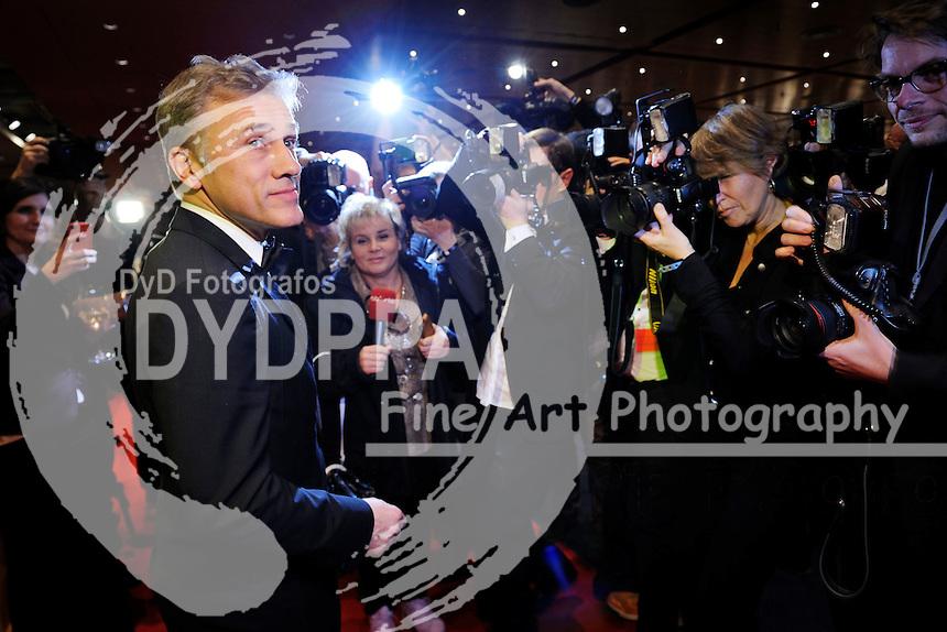 Christoph Waltz bei der Eröffnungsfeier der Berlinale 2015 / 65. Internationale Filmfestspiele Berlin, 05.02.2015
