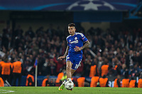 Kenedy of Chelsea plays a pass during the UEFA Champions League Round of 16 2nd leg match between Chelsea and PSG at Stamford Bridge, London, England on 9 March 2016. Photo by Andy Rowland.