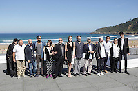"Actors Santiago Segura, Pepon Nieto, Hugo Silva Carmen Maura, director Alex de la Iglesia, actress Carolina Bang, actor Mario Casas posse during the presentation of ""Las brujas de Zugarramurdi"" in the 61 San Sebastian Film Festival, in San Sebastian, Spain. September 22, 2013. (ALTERPHOTOS/Victor Blanco) /NortePhoto"