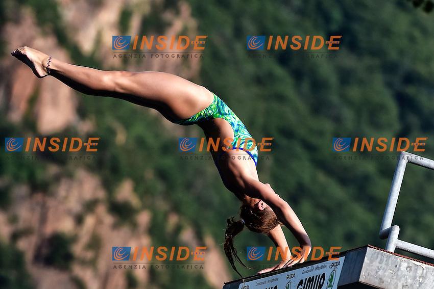 POLUYANOVA Mariia RUS <br /> Platform Women Final - Piattaforma Donne Finale <br /> Bolzano 02-08-2014 <br /> 20 Fina Diving Grand Prix <br /> Photo Andrea Staccioli/Insidefoto