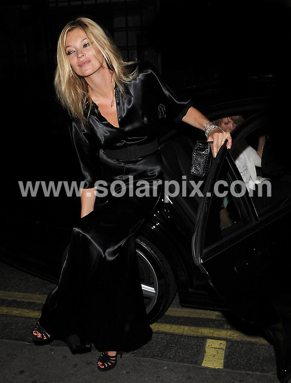 **ALL ROUND PICTURES FROM SOLARPIX.COM**                                             **WORLDWIDE SYNDICATION RIGHTS**                                                                                  Caption: Celebrities out in New Bond Street, London, UK, 21 September 2010                                                                               This pic: Kate Moss                                                                                             JOB REF: 12167        SSD       DATE: 21_09_2010                                                            **MUST CREDIT SOLARPIX.COM OR DOUBLE FEE WILL BE CHARGED**                                                                      **MUST AGREE FEE BEFORE ONLINE USAGE**                               **CALL US ON: +34 952 811 768 or LOW RATE FROM UK 0844 617 7637**